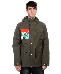 Quiksilver | Куртка Ac Elion Jacket Forest Night