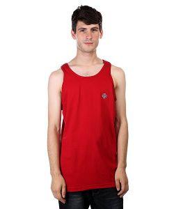 Independent | Майка Cross/Bar Tank Cardinal Red