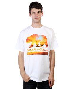 Nor Cal | Футболка Sunset Bear White