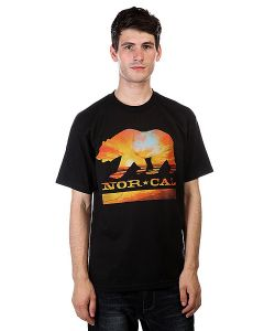 Nor Cal | Футболка Sunset Bear Black