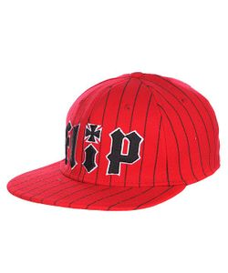 Flip | Бейсболка Pinstriped Stretch Hat Red