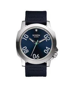 Nixon | Часы Ranger 45 Nylon Navy/Brass