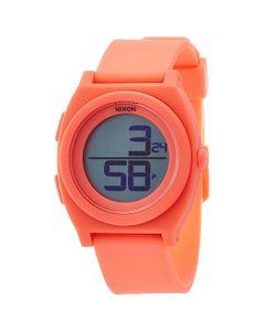 Nixon | Часы Time Teller Digi Bright Coral