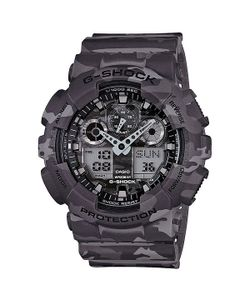 Casio G-Shock | Часы Ga-100cm-8a Grey Camo