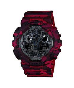 Casio G-Shock | Часы Ga-100cm-4a Burgundy/Black
