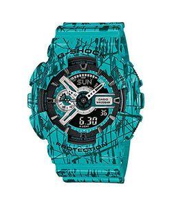 Casio G-Shock | Часы Ga-110sl-3a Blue