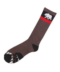 Nor Cal | Носки Высокие Bear Foot Sock Brown Heather