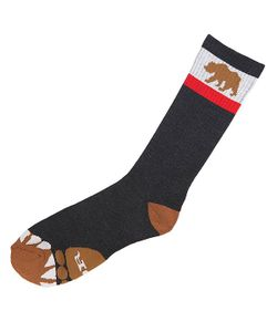 Nor Cal | Носки Высокие Bear Foot Sock Black Heather
