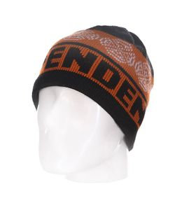Independent | Шапка Cb Stripe Skull Black/Orange/Red
