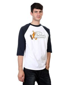 Toy Machine | Лонгслив Jump Ramp Raglan Navy/White