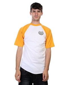 Proto Scooters | Футболка Baller Short Sleeve Yellow On White