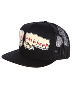 Toy Machine | Бейсболка Fists Mesh Cap Black
