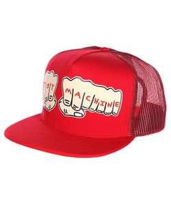 Toy Machine | Бейсболка Fists Mesh Cap Red