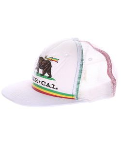 Nor Cal | Бейсболка Rude Bear Trucker White