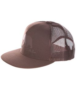 Nor Cal | Бейсболка Bear Trucker Dark Brown