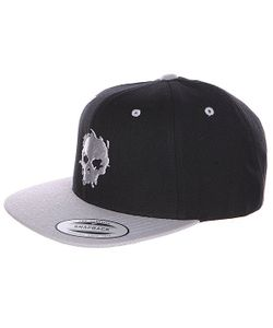 Zero | Бейсболка Blood Skull Black/Grey