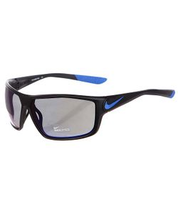 Nike | Очки Ignition R Matte Black/Game Royal Grey W/Blue Night Flash Lens
