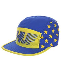 Huf | Бейсболка Пятипанелька Hell Track Volley Yellow/Blue