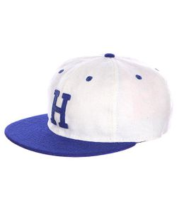 EBBETS FIELD FLANNELS | Бейсболка Homestead Grays Strap Back Cap White