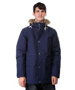 Quiksilver | Куртка Парка Mumford Medieval Blue