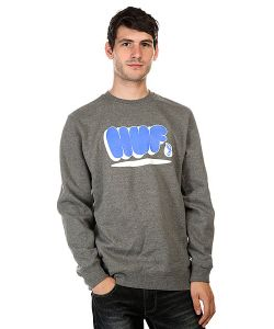 Huf | Толстовка Bubbles Crew Gunmetal Heather