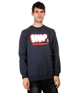 Huf | Толстовка Bubbles Crew Navy Heather