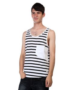Clwr | Майка Cut Tank Black Stripe