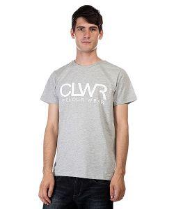 Clwr | Футболка Tee Grey Melange