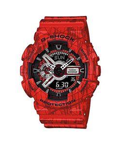 Casio G-Shock | Часы Ga-110sl-4a Red