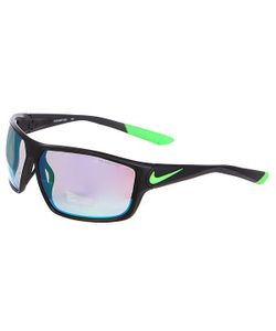 Nike | Очки Ignition R Matte Black/Poison Green/Grey W/Ml Green Flash Lens