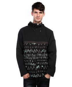 Quiksilver | Куртка Carpark Allover Black