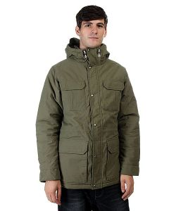 Quiksilver | Куртка Зимняя Long Bay Dusty Olive