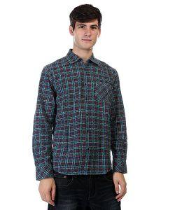 Quiksilver | Рубашка В Клетку Pinelook Print Feder