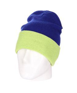 Skills | Шапка Двусторонняя New Reversible Beanie Royal Lime