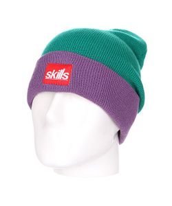 Skills | Шапка Носок New Sport Beanie Light Green/Purple