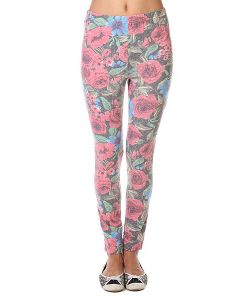 Insight | Леггинсы Женские Floral Bouquet Leggings Red