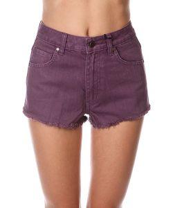 Insight | Шорты Джинсовые Женские Plum Berry Purple