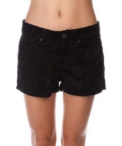 Insight | Шорты Классические Женские Floral Velvet Shorts Black