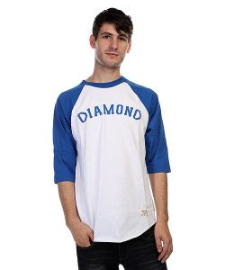 Diamond | Лонгслив Dugout 98 Raglan White/Royal