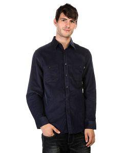 Huf | Рубашка Alaster Cord Woven Navy