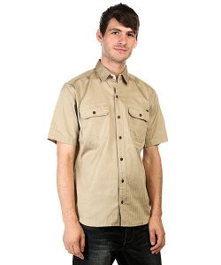 Huf | Рубашка Protrero Workshirt Khaki