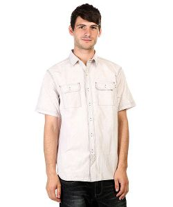 Huf | Рубашка Hanover Short Sleeve Oxford Shirt White