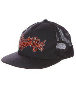 Santa Cruz | Бейсболка С Сеткой Signature Black