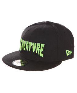 Creature | Бейсболка С Прямым Козырьком Logo Fade New Era Black
