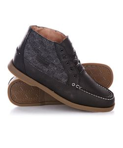 Circa | Кеды Кроссовки Высокие Main Bkbtw Black Wool Tweed