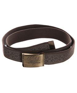 Circa | Ремень Printed Belt Chocolate