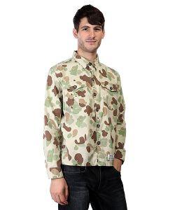 Insight | Рубашка Osama Bin Smokin Kool G Khaki