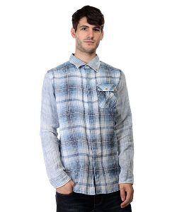 Insight | Рубашка В Клетку Chosen Few Invert Classic Blue