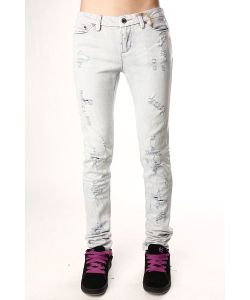 Insight | Джинсы Узкие Женские Beanpole Skinny Stretch Ripped Bleach Blue