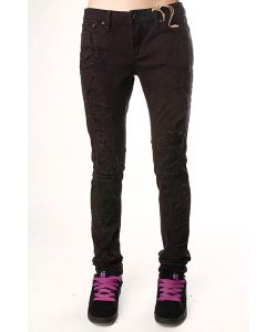 Insight | Джинсы Узкие Женские Beanpole Skinny Stretch Ripped Caveman Black